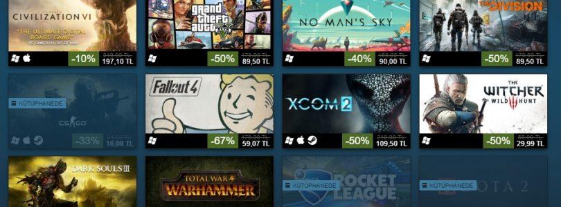 Steam, Kış İndirimlerinde En Çok Satın Alınan Oyunlar Listesini Açıkladı