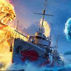 World Of Warships'te Ateşin Ve Buzun Savaşı Başlıyor