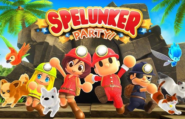 Spelunker Party Yayınlandı!