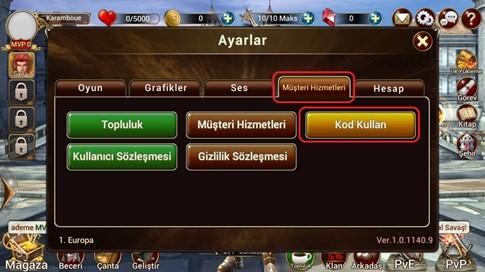 Wrath of Dragon Promosyon Kodları 7