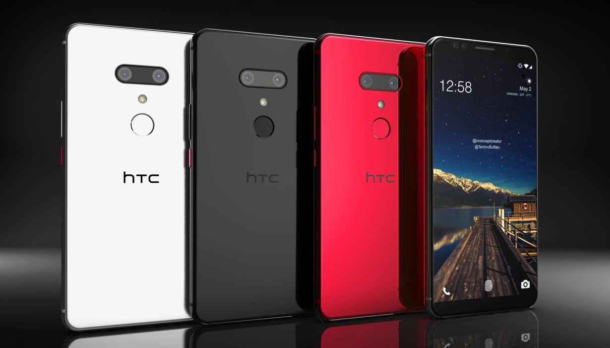 İşte HTC U12 Plus'ın Render Görüntüleri
