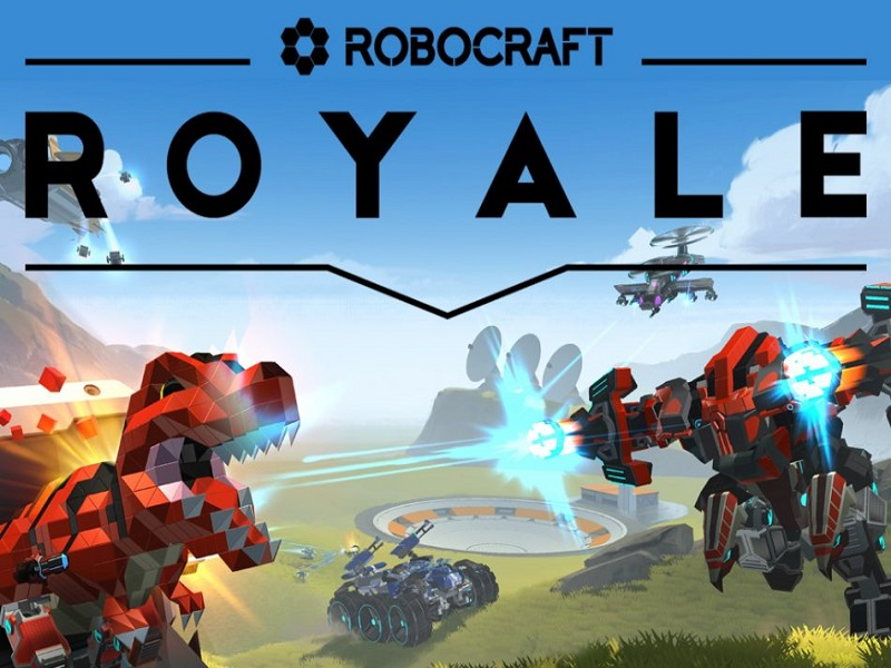Robocraft Royale Bu Ay Steam'e Geliyor