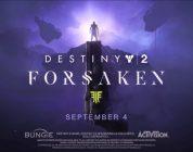 Destiny 2'nin Forsaken Eklentisine Yönelik Yeni Fragman Yayınlandı!