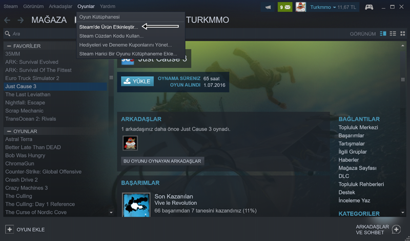 Oyun Severlere Ücretsiz Steam Oyunları Dağıtıyoruz 2