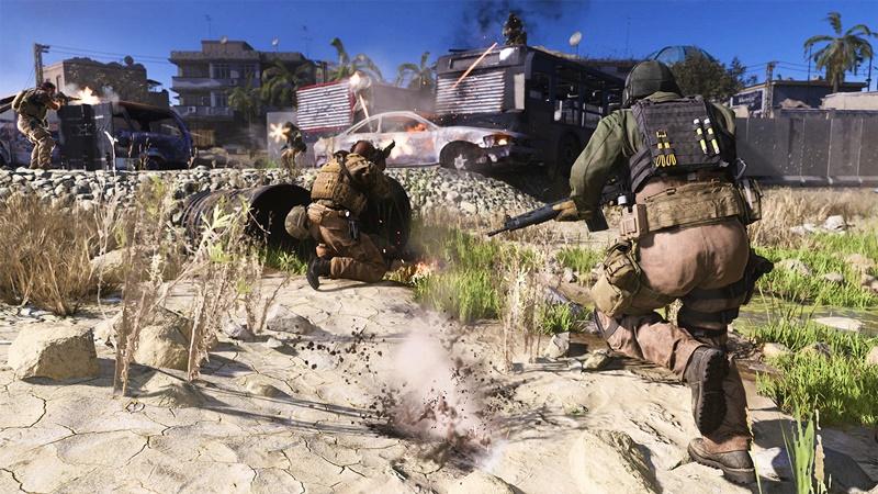 Call of Duty Modern Warfare %C3%87ok Oyunculu Modda 100%E2%80%99den Fazla Oyuncunun Yer Alaca%C4%9F%C4%B1 Haritalara Sahip Olacak 2