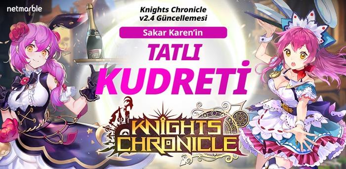 Knights Chronicle Yeni Kahramanları Olan Eurora Ve Baskerville'a Kavuştu!