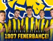 Wolfteam Derbisinde Kazanan 1907 Fenerbahçe Espor Oldu!
