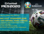 UEFA Euro 2020, 30 Nisan'da eFootball PES 2020'ye Gelecek