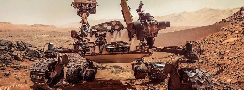 Curiosity Mars Keşif Aracı Yeni Bir Bölgeyi Taramaya Başlıyor