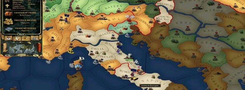 Europe Universalis 2 Kısa Bir Süreliğine GOG'da Ücretsiz Oldu