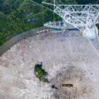 Porto Riko'daki 900 Tonluk Arecibo Gözlemevi 1 Gecede Çöktü