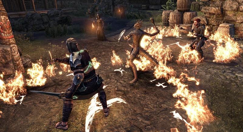 the elder scrolls blackwood ekran görüntüsü