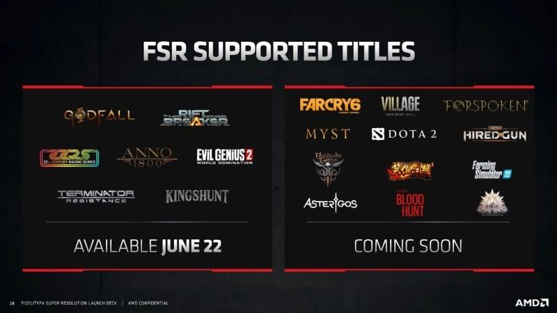 FidelityFX Super Resolution Nedir