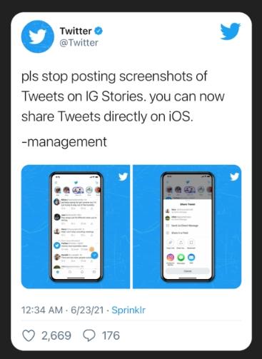 Tweet, instagram hikayelerde nasıl paylaşılır