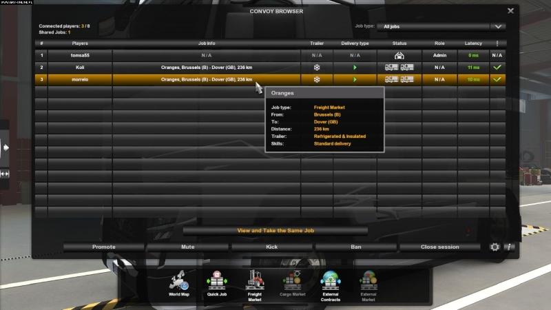 Euro Truck Simulator 2 Çok Oyunculu