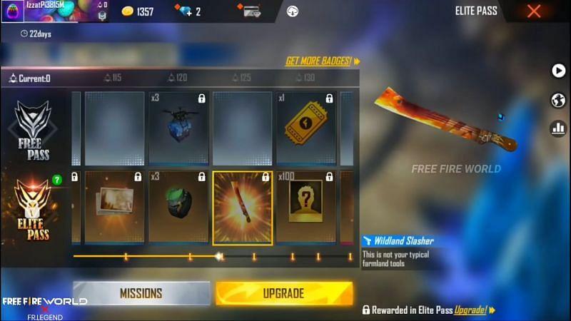 Free Fire Elite Pass