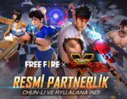 Free Fire Street Fighter V Etkinliği Bugün Başlıyor