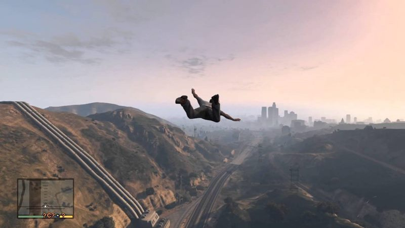 GTA 5 Skyfall hilesi
