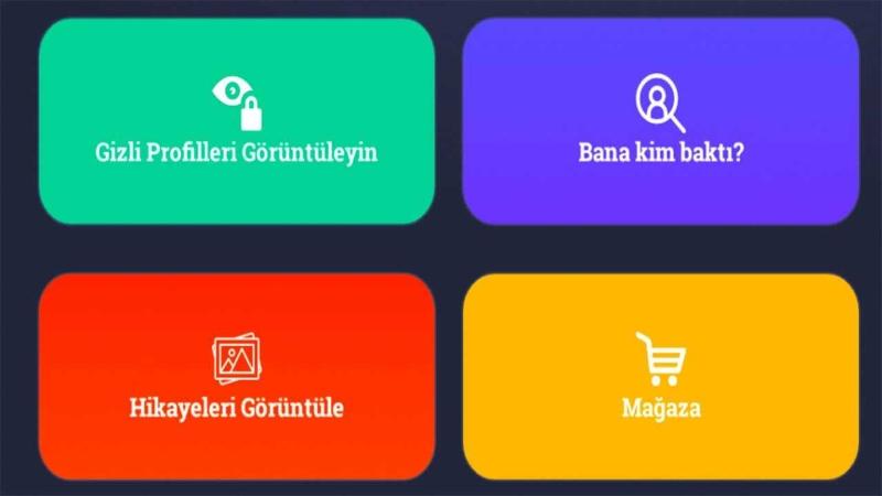 Instagram Gizli Profile Bakma