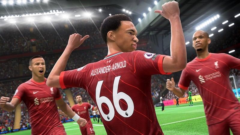 FIFA 22 Ultimate Team gol sevinci