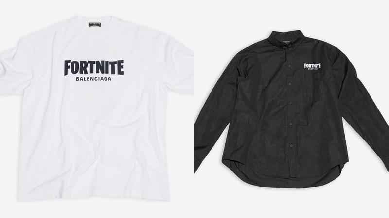 Fortnite Balenciaga işbirliği