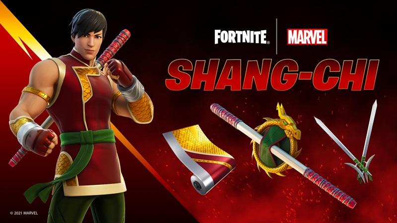 Fortnite Shang-Chi görünümü