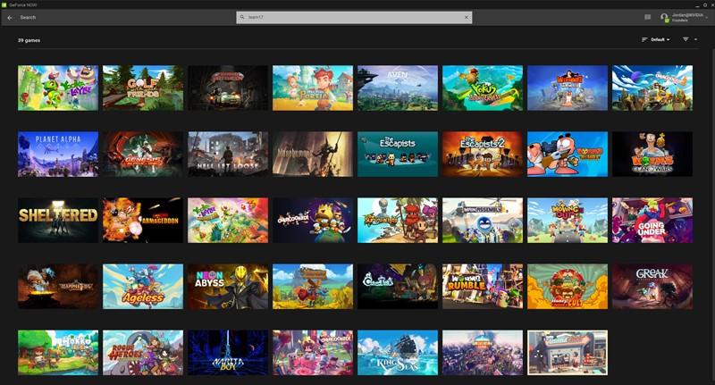 GeForce Now oyun listesi
