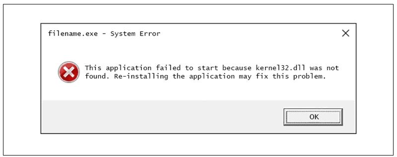 Kernel32.dll hatası