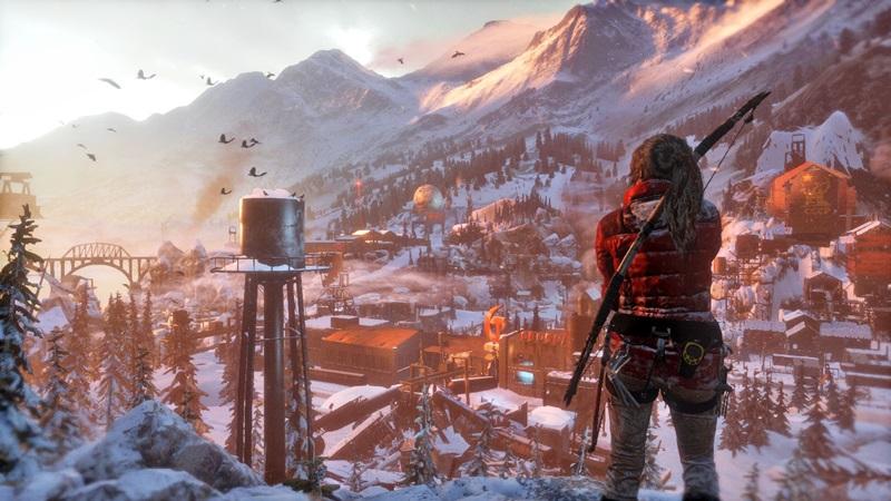 Rise of The Tomb Raider square enix
