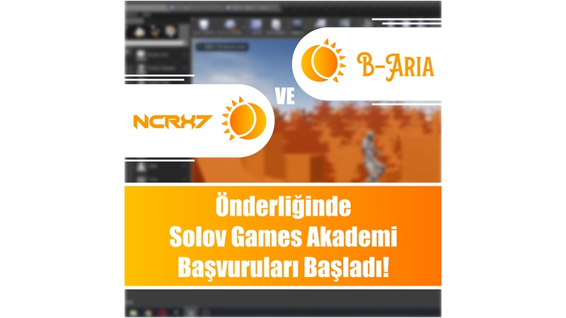 Solov Games Akademi başvuruları