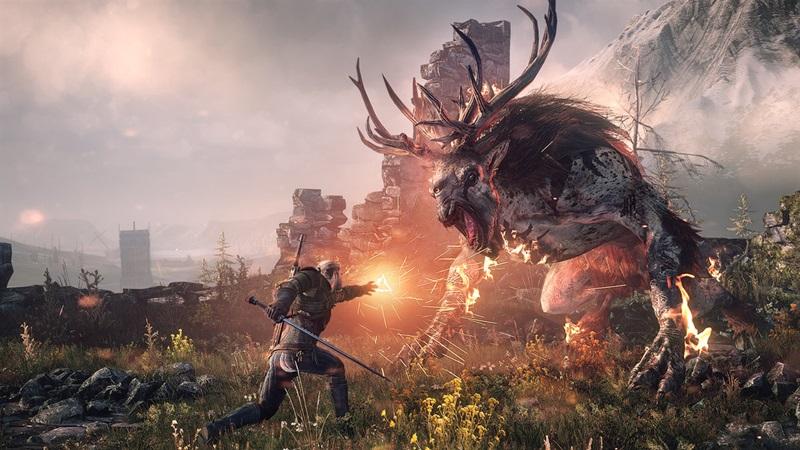 The Witcher PS5 güncellemesi