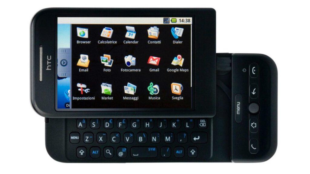İlk Android Telefon HTC Dream