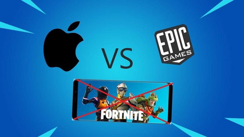 fortnite ios apple epic games