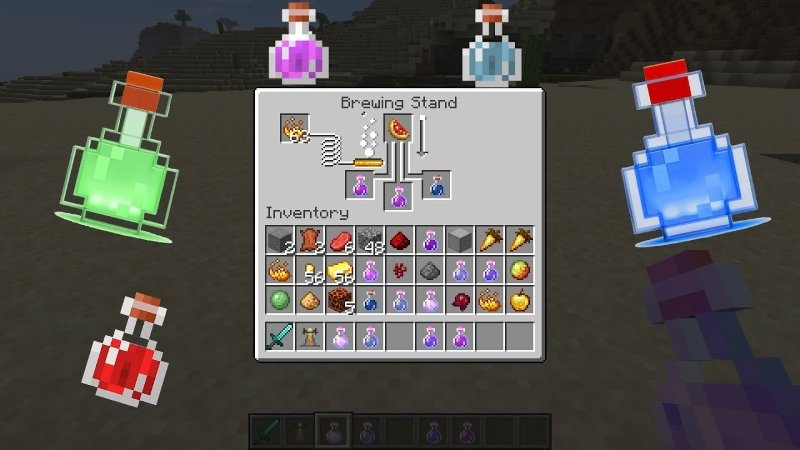 Minecraft İksir Yapımı
