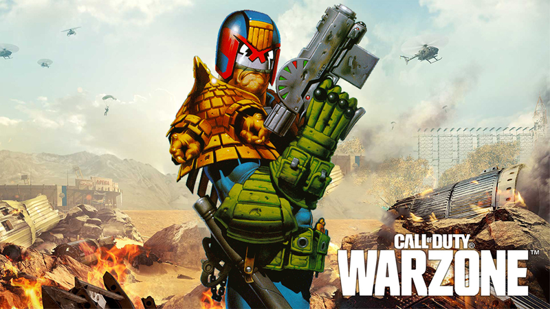 Call of Duty Judge Dredd