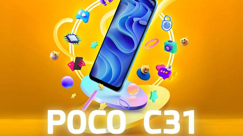 POCO C31 Teknik Özellikleri