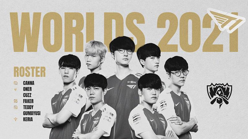 t1 worlds 2021 kadrosu