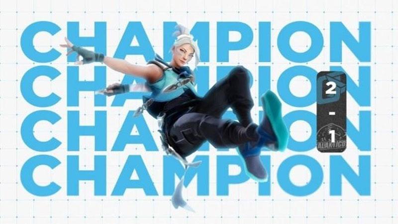 VALORANT Topluluk Turnuvası Şampiyonu OtherSide Blue