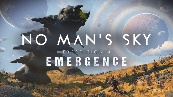 No Man's Sky Emergence Expedition İlk Hikayeli Ek Paket Olacak