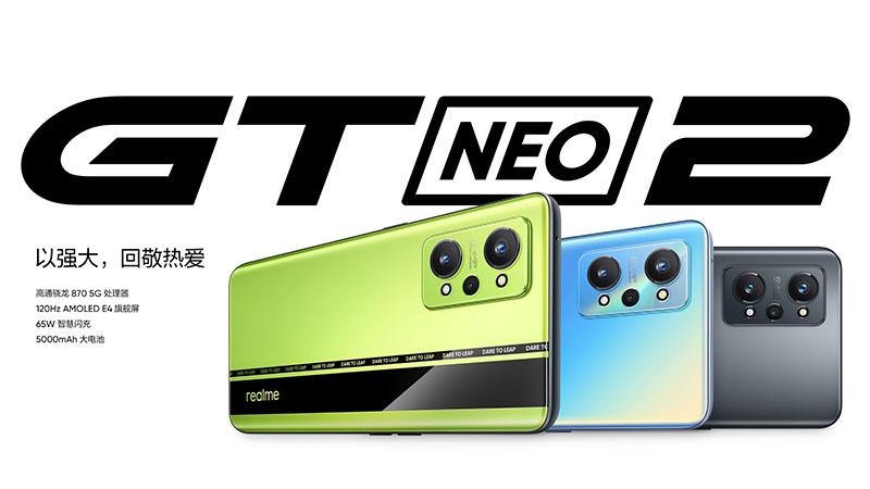 Realme GT Neo2 Modeli